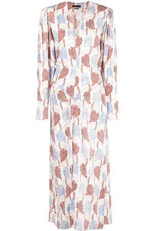 Isabel Marant Blaine V-neck maxi dress