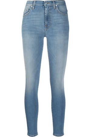 7 for all Mankind Mujer Cintura alta - Vaqueros skinny HW