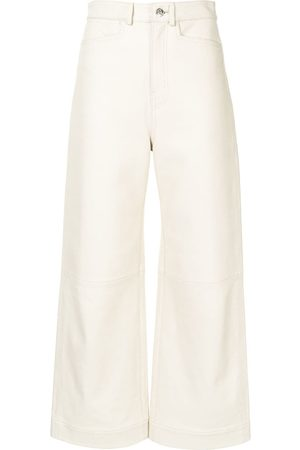 PROENZA SCHOULER WHITE LABEL LIGHTWEIGHT LEATHER CULOTTES