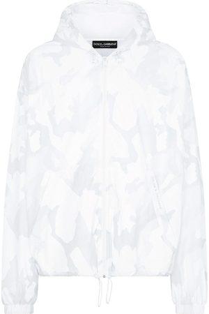 Dolce & Gabbana Chaqueta cortavientos con motivo abstracto