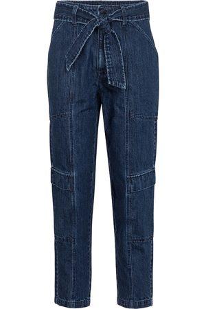 J Brand Jeans cropped paperbag Athena
