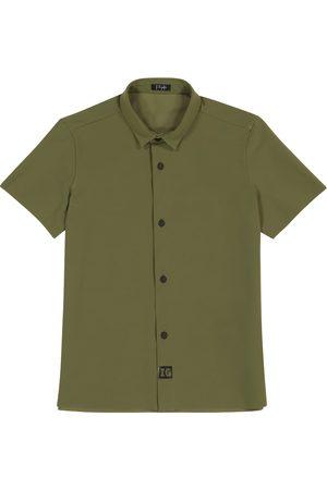 Il gufo Camisa de punto fino