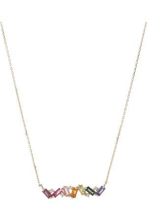 Suzanne Kalan Collar Frenesia de oro de 18 ct con diamantes