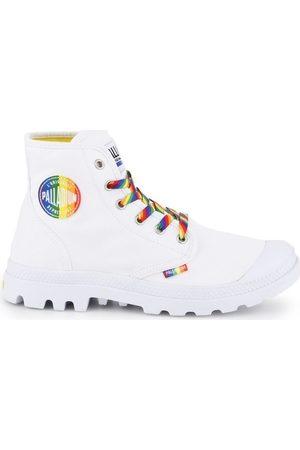Palladium Zapatillas altas Pampa Pride para mujer