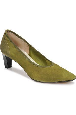 Perlato Zapatos de tacón 10367-CAM-MUSGO-KAKI para mujer