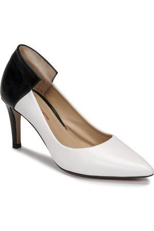 Perlato Zapatos de tacón 11764-VENUS-BLANC-JAMAICA-NOIR para mujer