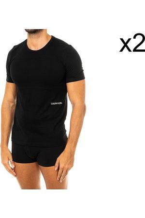 Calvin Klein Camiseta interior Pack-2 Camisetas M/Corta C.Klein para hombre