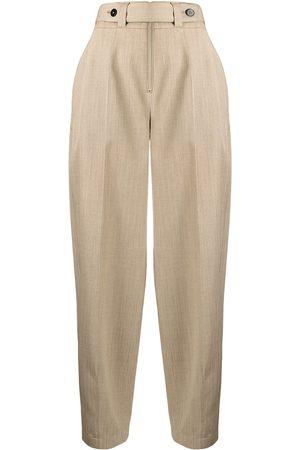 Jil Sander Mujer Pantalones de talle alto - Pantalones estilo balloon