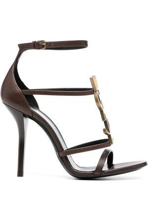 Saint Laurent Cassandra high-heel sandals