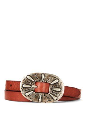 Ralph Lauren Cinturón de piel de becerro