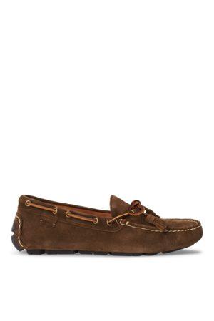 Polo Ralph Lauren Hombre Oxford y mocasines - Zapato driver Anders de ante con borlas