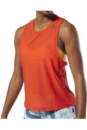 Reebok Camiseta tirantes RC Jacquard Tank para mujer