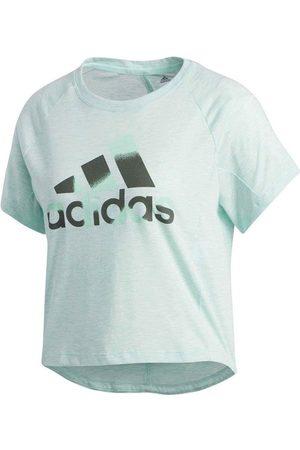 adidas Camiseta Boxy Badge OF Sport para mujer