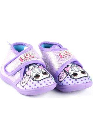 Easy Shoes Pantuflas - Pantofola viola LOP7749 para niño