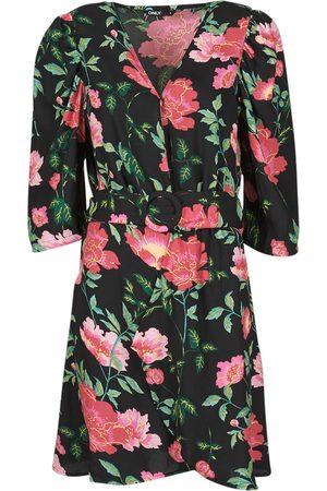 Only Vestido ONLEVE 3/4 SLEEVE SHORT DRESS WVN para mujer