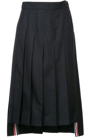 Thom Browne Mujer Midi - Falda midi con pliegues