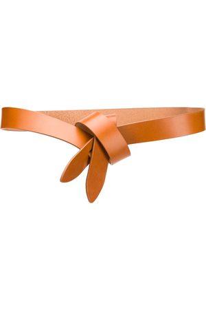 Isabel Marant Cinturón con detalle de nudo