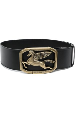 Etro Mujer Cinturones - Cinturón con placa del logo