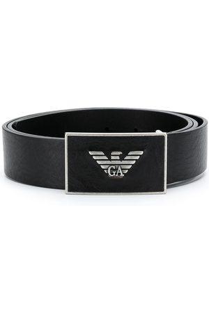 Emporio Armani Cinturón con logo de metal