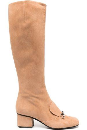Gucci Mujer Botas - Botas con detalle Horsebit