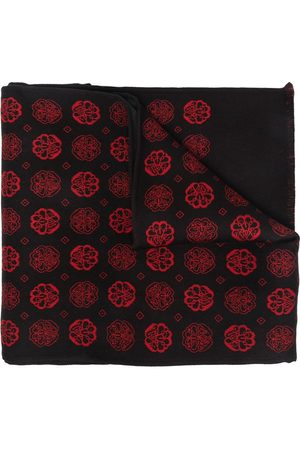 Alexander McQueen Hombre Bufandas y Pañuelos - Jacquard-woven scarf