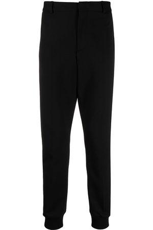 Karl Lagerfeld Pantalones tipo cargo con franjas del logo