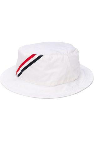 Thom Browne Sombrero de pescador con rayas RWB