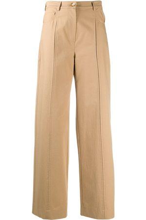 Nanushka Pantalones de talle alto Bowen