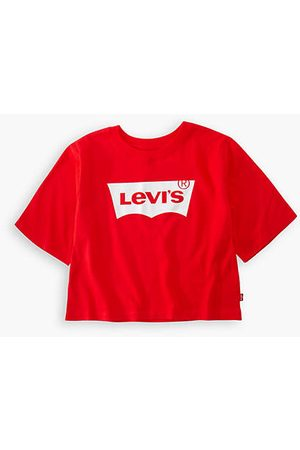 Levi's Teenager Light Bright Cropped Top / Super Red