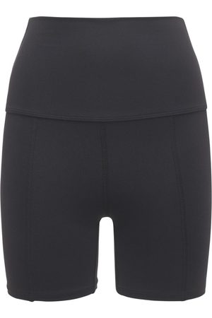 "LIVE THE PROCESS | Mujer Shorts ""geometric"" Con Cintura Alta Xs"