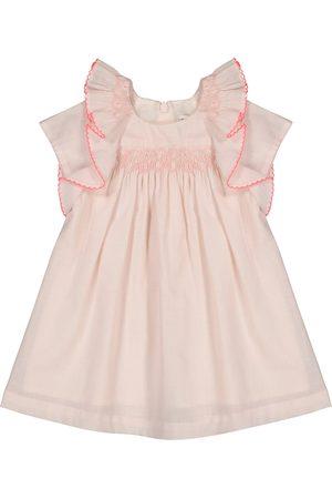 Tartine Et Chocolat Bebé - vestido de algodón bordado