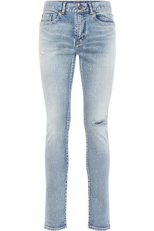 Saint Laurent | Hombre Jeans Tiro Bajo De Denim Skinny Fit 15cm 33