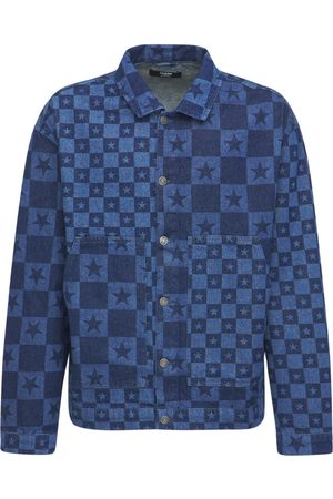 Jaded London | Hombre Chaqueta De Denim Con Estampado Estrellas /multicolor S