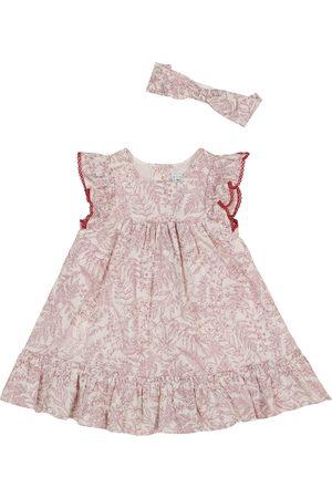 Tartine Et Chocolat Bebé - vestido y diadema de algodón floral