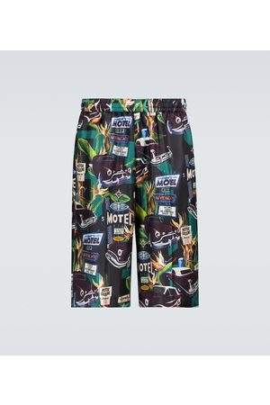 Givenchy Pantalones cortos de seda mulberry