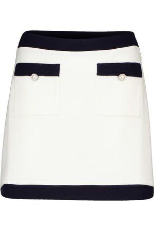 Miu Miu Minifalda de lana virgen