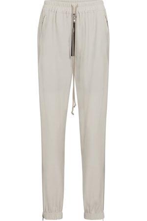 Rick Owens Pantalones de chándal ajustados