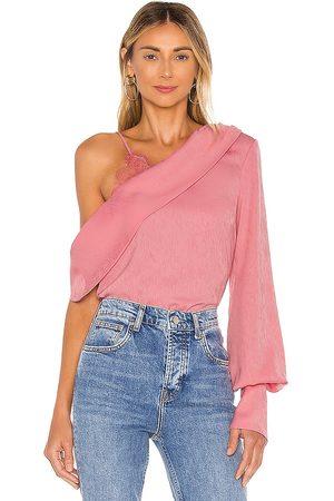 NBD Blusa bekah en color talla M en - Pink. Talla M (también en S, XL, XS, XXS).