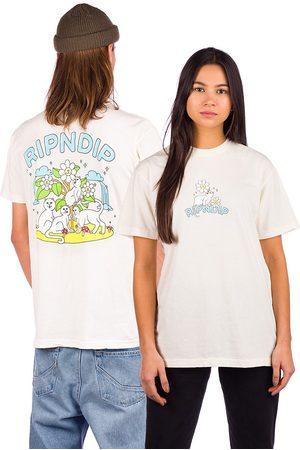 Rip N Dip Magical Place T-Shirt marrón