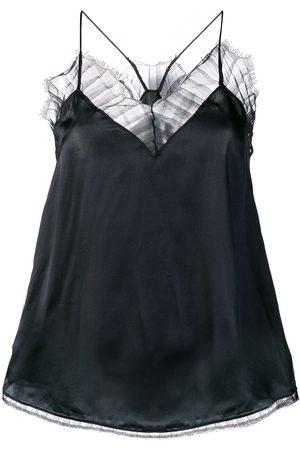 IRO Mujer Camisolas - Camisola con ribete de encaje