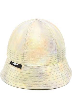 Msgm Hombre Sombreros - Sombrero de pescador con motivo tie-dye