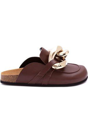 J.W.Anderson Mujer Oxford y mocasines - Zapatos slip-on con cadena gigante