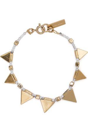 Isabel Marant Mujer Pulseras - Pulsera con charms triangulares