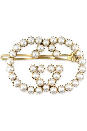 Gucci Mujer Accesorios del pelo - Horquilla con logo GG y perla