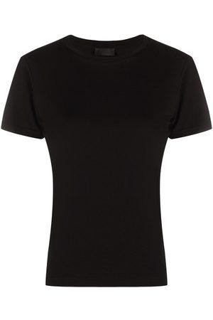 Moncler Mujer Tops - Camiseta slim con rayas en la espalda