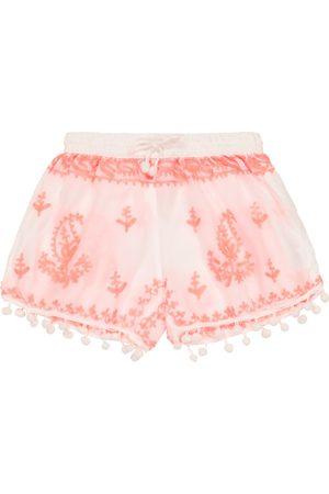 Melissa Odabash Bebé - shorts Sienna bordados
