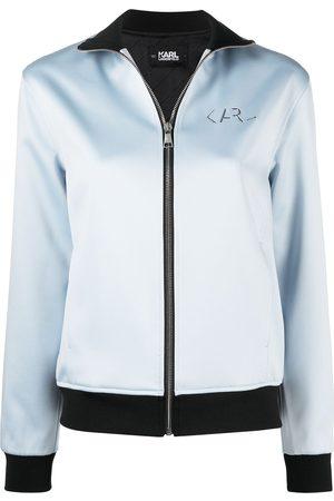 Karl Lagerfeld Chaqueta con placa del logo