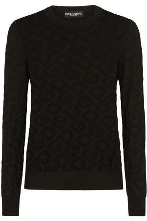 Dolce & Gabbana Jersey con logo en intarsia