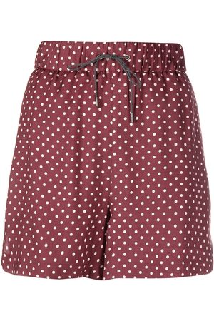 Fabiana Filippi Mujer Pantalones cortos - Shorts con motivo de lunares