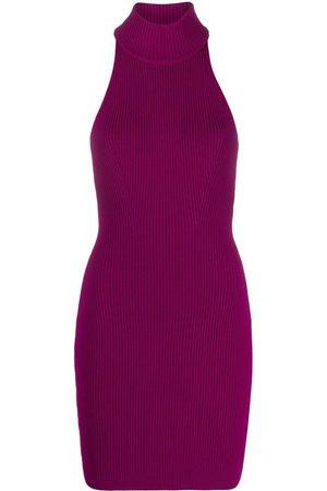 Dsquared2 Mujer De punto - Vestido corto de punto con cuello halter